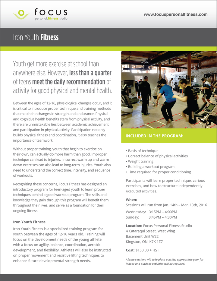 Iron Youth Fitness
